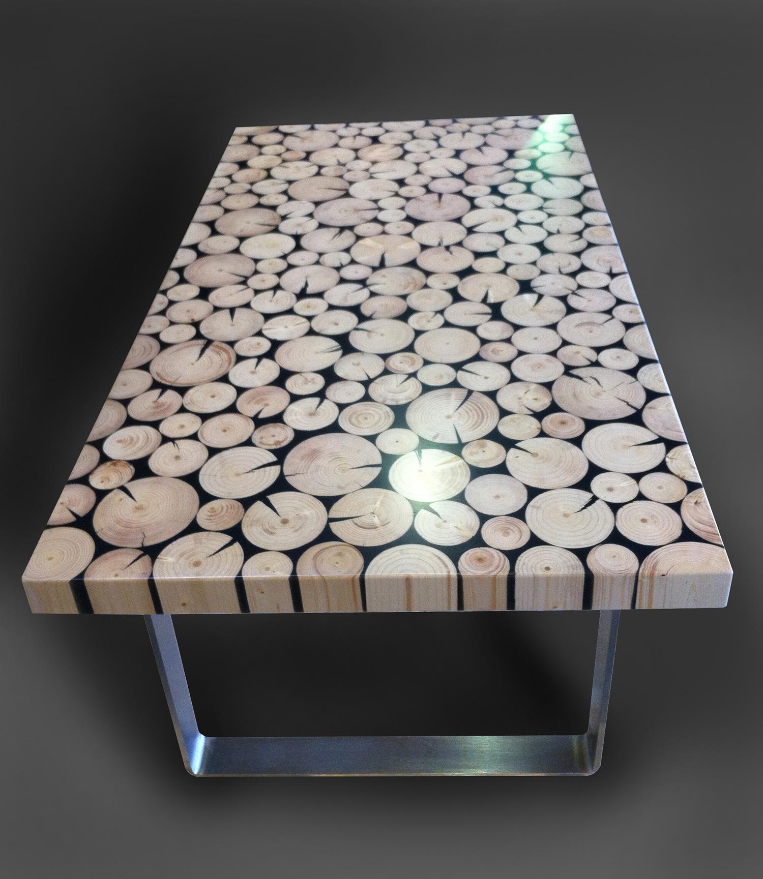aniamo tavolo  Holzverbundsysteme  Holzdesign  Ziergitter