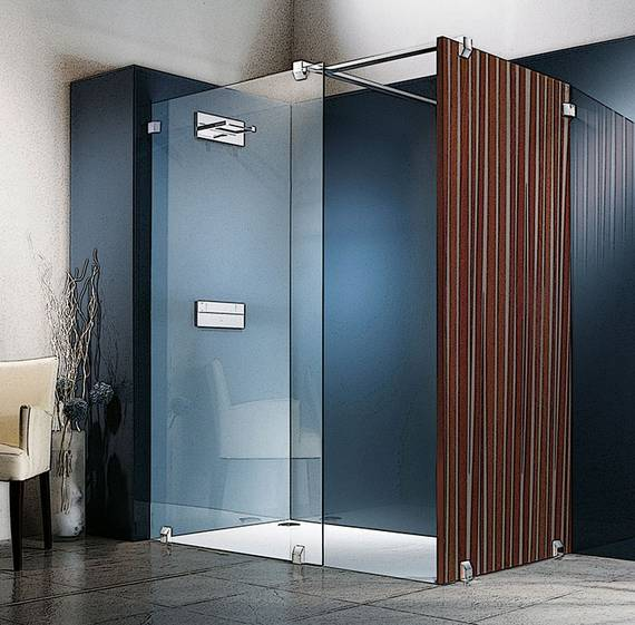 Dusche Trennw?nde : Anwendungsbeispiel: Artweger WALK IN Dusche, kombiniert mit aniamo
